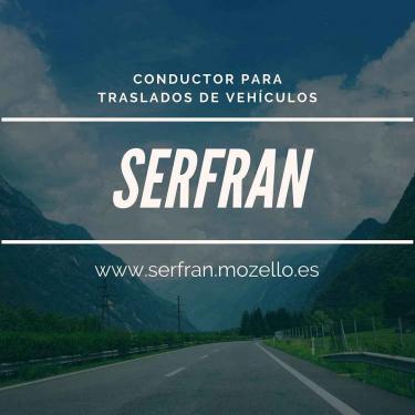 SERFRAN CONDUCTOR PARA TRASLADO DE VEHíCULOS