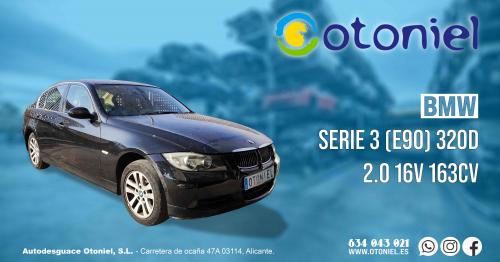 RECAMBIOS PARA BMW SERIE 3 (E90) 2.0 16V 163CV DE 2006