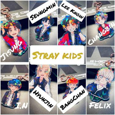 ORIGINALES Y EXCLUSIVOS LLAVEROS K-POP STRAY KIDS